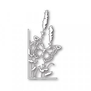 Memory Box Stanzschablone - Lavender Butterfly Left Corner