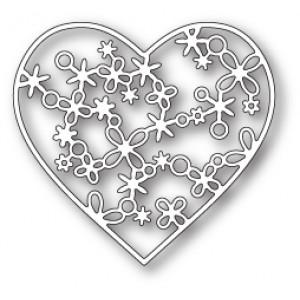 Memory Box Stanzschablone - Rivington Heart