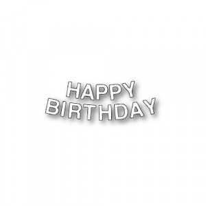 Memory Box Stanzschablone - Birthday Letters