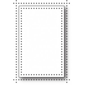 Memory Box Stanzschablone - Pinpoint Single Frame