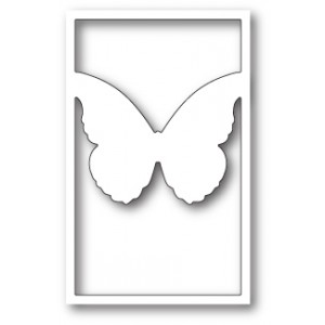 Memory Box Stanzschablone - Vivienne Butterfly Silhouette