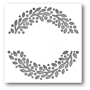 Memory Box Stanzschablone - Leafy Ring