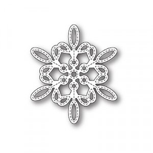 Memory Box Stanzschablone - Purslane Snowflake Outline