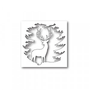 Memory Box Stanzschablone - Evergreen Reindeer