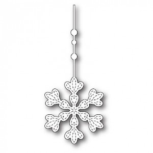 Memory Box Stanzschablone - Hanging Evelyn Snowflake