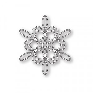 Memory Box Stanzschablone - Purslane Snowflake - 30% RABATT