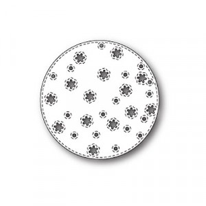 Memory Box Stanzschablone - Stitched Snowflake Circle
