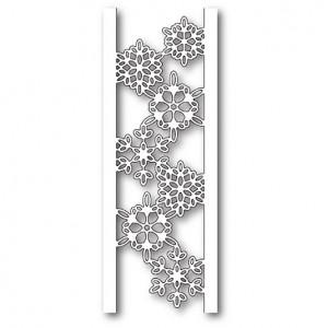 Memory Box Stanzschablone - Batavia Snowflake Channel