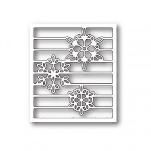 Memory Box Stanzschablone - Snowy Spectrum