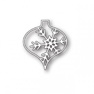 Memory Box Stanzschablone - Piccolo Snowflake Ornament
