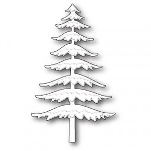 Memory Box Stanzschablone - Snowy Pine