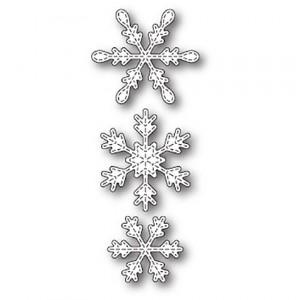Memory Box Stanzschablone - Stitched Piccolo Snowflakes