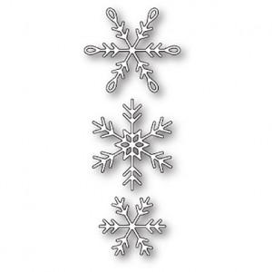 Memory Box Stanzschablone - Piccolo Snowflakes