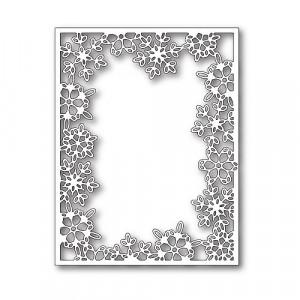 Memory Box Stanzschablone - Silent Snowflake Frame
