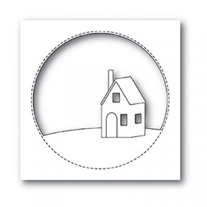 Memory Box Stanzschablone - Cabin Circle - 20% RABATT