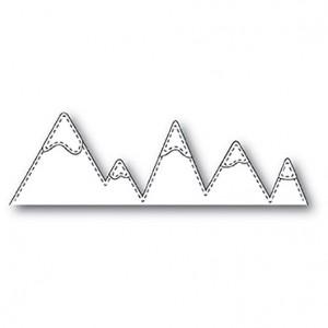 Memory Box Stanzschablone - Stitched Mountains