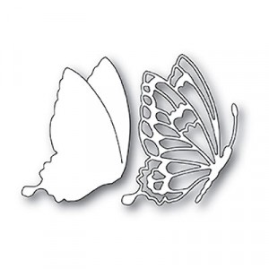 Memory Box Stanzschablone - Drifting Side Butterfly
