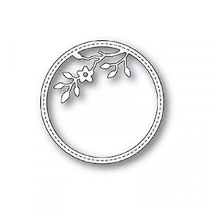 Memory Box Stanzschablone - Tree Blossom Stitched Circle Frame