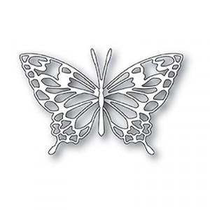 Memory Box Stanzschablone - Adora Butterfly