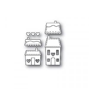Memory Box Stanzschablone - Stitched Heart Village