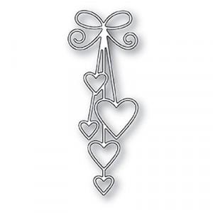 Memory Box Stanzschablone - Ribbon Hearts