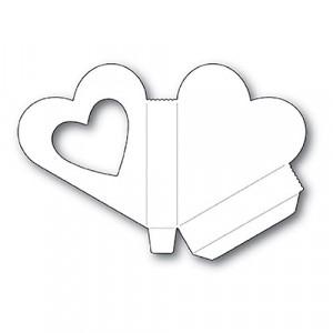 Memory Box Stanzschablone - Heart Gift Box