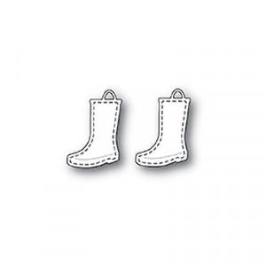 Memory Box Stanzschablone - Stitched Rain Boots