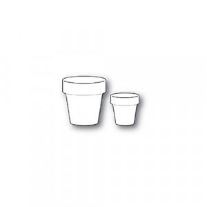 Memory Box Stanzschablone - Simple Garden Pots