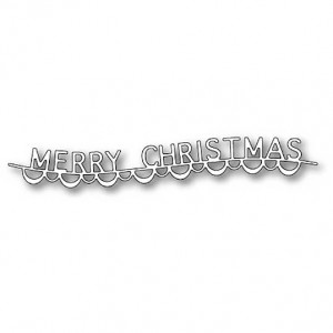Memory Box Stanzschablone - Merry Christmas Garland