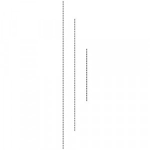 Memory Box Stanzschablone - Straight Stitches