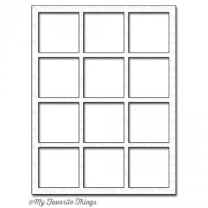 My Favorite Things Die-Namics Die - Square Grid Cover Up