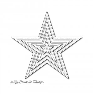 My Favorite Things Die-Namics Die - Pierced Star Stax
