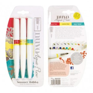 Nuvo Aqua Flow Pens - Summer Holiday
