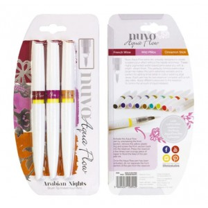 Nuvo Aqua Flow Pens - Arabian Nights