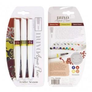 Nuvo Aqua Flow Pens - Festive Season
