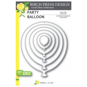Birch Press Stanzschablone - Party Balloon
