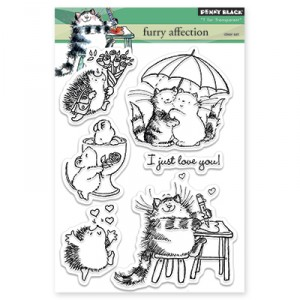 Penny Black Clear Stamps - Furry Affection
