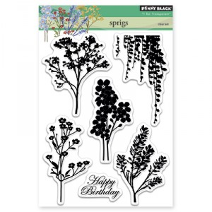 Penny Black Clear Stamps - Sprigs