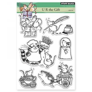 Penny Black Clear Stamps - U R The Gift