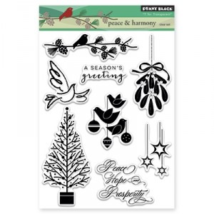 Penny Black Clear Stamps - Peace & Harmony