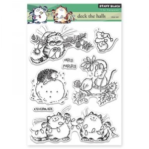 Penny Black Clear Stamps - Deck The Halls
