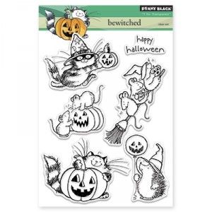 Penny Black Clear Stamps - Bewitched
