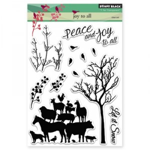 Penny Black Clear Stamps - Joy To All