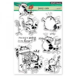 Penny Black Clear Stamps - Jazzy Cats