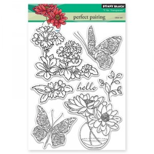 Penny Black Clear Stamps - Perfect Pairing