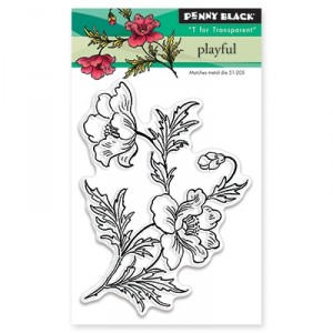 Penny Black Clear Stamps Mini - Playful