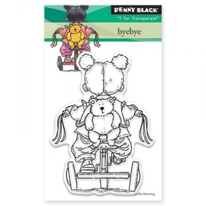 Penny Black Clear Stamps Mini - Byebye