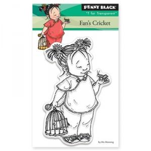 Penny Black Clear Stamps Mini - Fan's Cricket