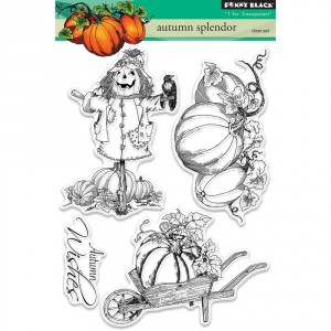 Penny Black Clear Stamps - Autumn Splendor