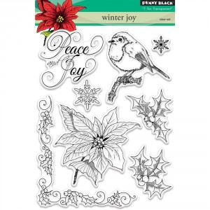 Penny Black Clear Stamps - Winter Joy
